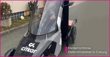 Förderrichtlinie Elektromobilität in Coburg
