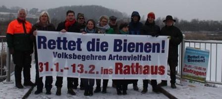 Das lokale Bündnis aus ÖDP, Bund Naturschutz, Grüne, LBV, SPD, JUSOS uvm...