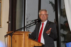 Mit einer mutigen Rede motvierte Martin Lücke die Delegierten für sich